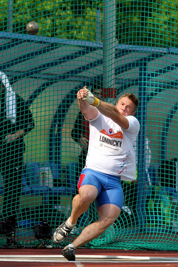 Marcel Lomnicky Hammer Throw Ostrava Golden Spike