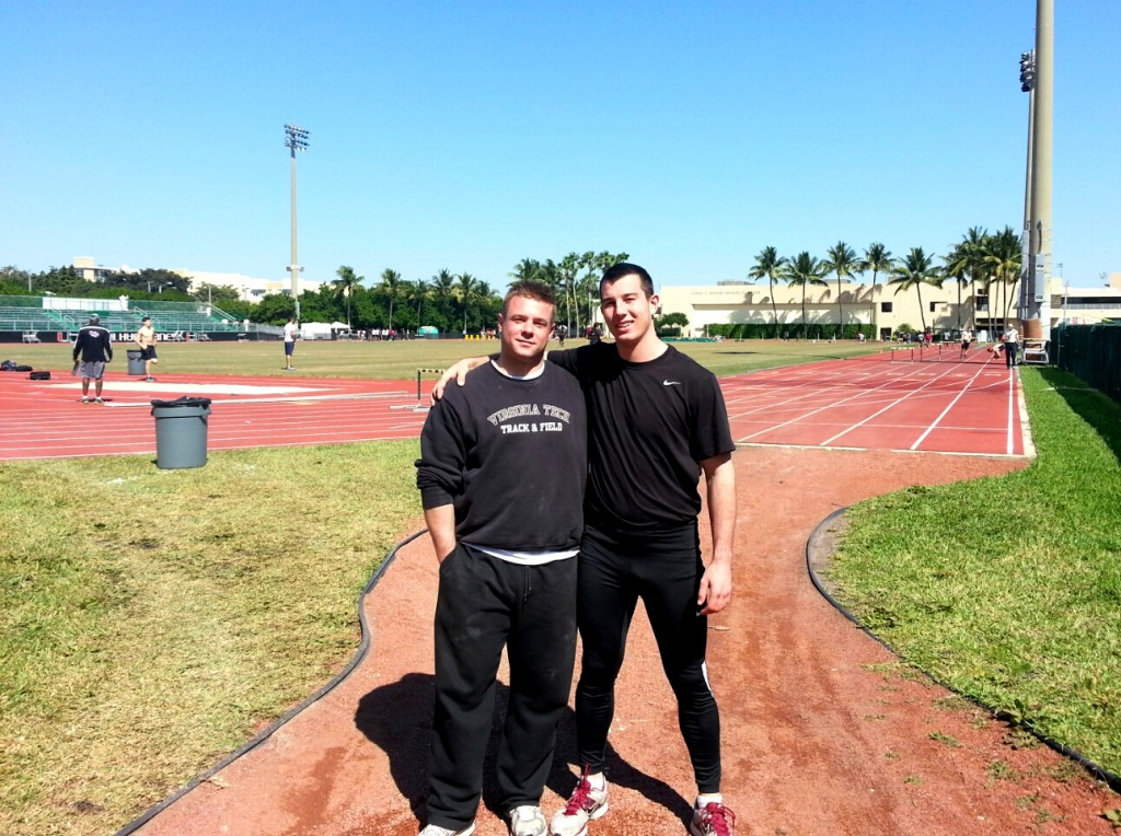 training, marcel lomnicky, university of miami, track and field, hammer throw, throwers, lomnicky, website, training update, progress